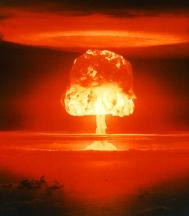 [Picture of a mushroom cloud.]